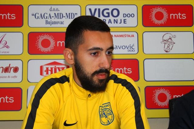 Oporavio se: golman Dinama Nikola Lakić. Foto VranjeNews