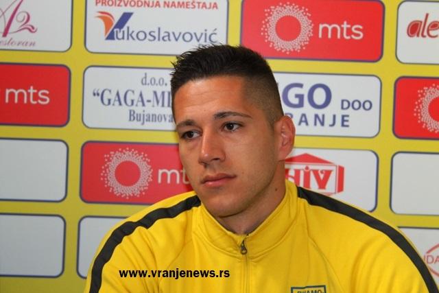 OFK Bačka igra ofanzivno kod kuće, ali smo ih dobro analizirali: Nikola Popović. Foto VranjeNews
