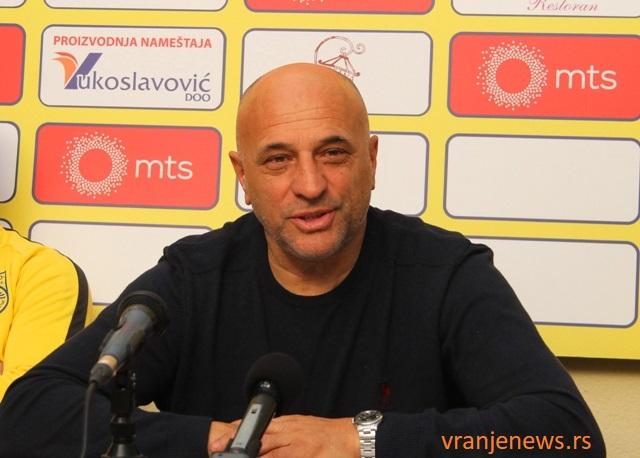 Suraka je na izlaznim vratima Dinama: Dragan Antić. Foto VranjeNews
