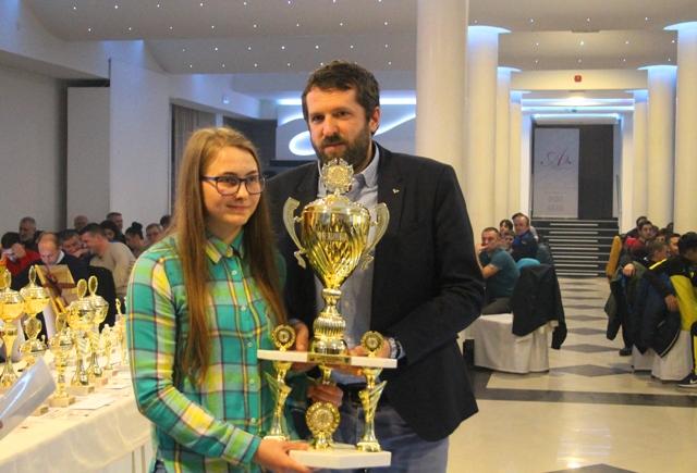 Ivana Davidović neprikosnovena u ženskom sportu. Foto VranjeNews