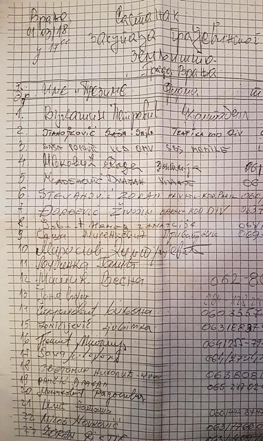 Peticija. Foto Vranjenews
