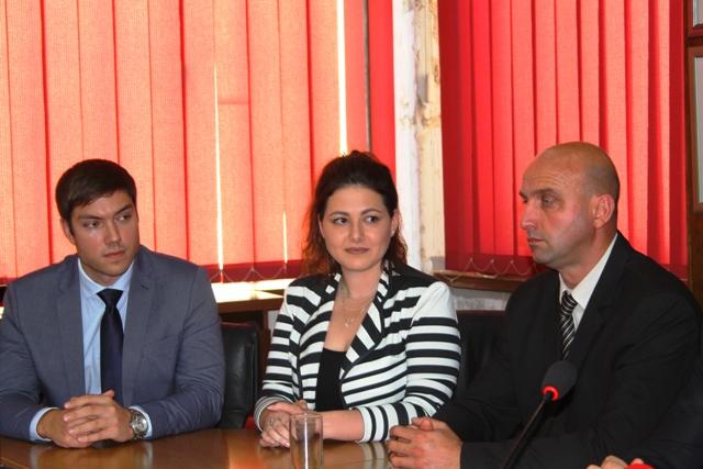 Milica Janjić  iz Studenske unije Srbije. Foto Vranje News