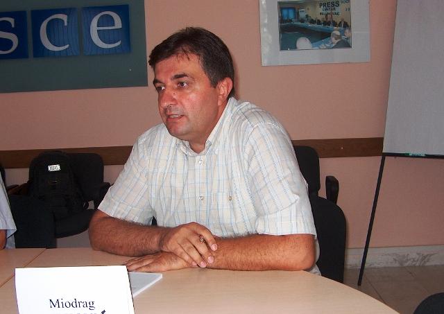Miodrag Milković. Foto Vranjenews