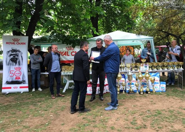 Ninoslav Stojković, odgajivačnica šnaucera Flor d Luna. Foto VranjeNews