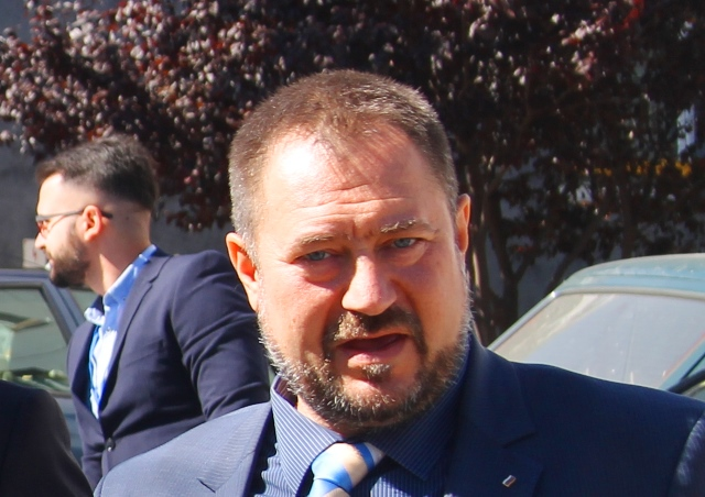 Patar Haralampiev pre nešto više od mesec dana u Vranju. Foto VranjeNews