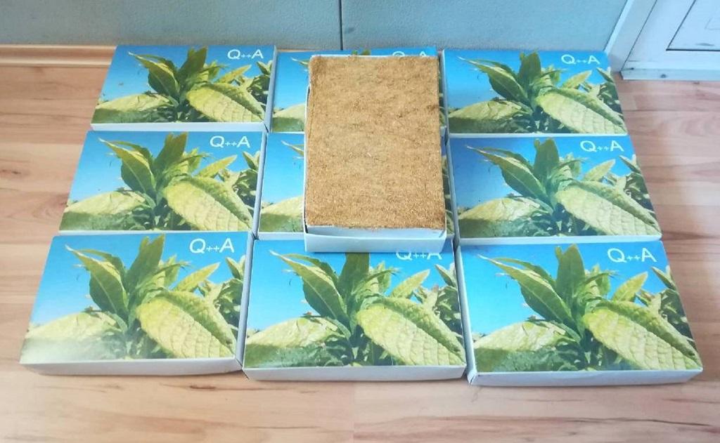 Duvan bio sakriven u 21 kartonsku kutiju. Foto Uprava carina
