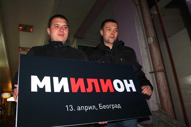 Idemo kako znamo i umemo: Đorđe Ristić (levo), lider NS Vranje. Foto VranjeNews
