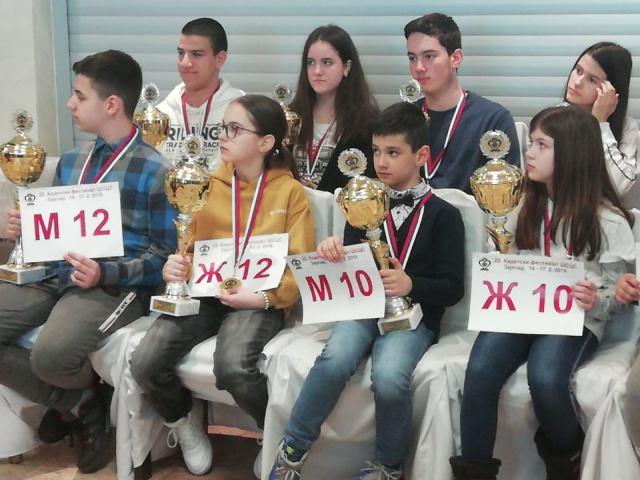 Vranje ima mnogo šahovskih talenata. Foto privatna arhiva