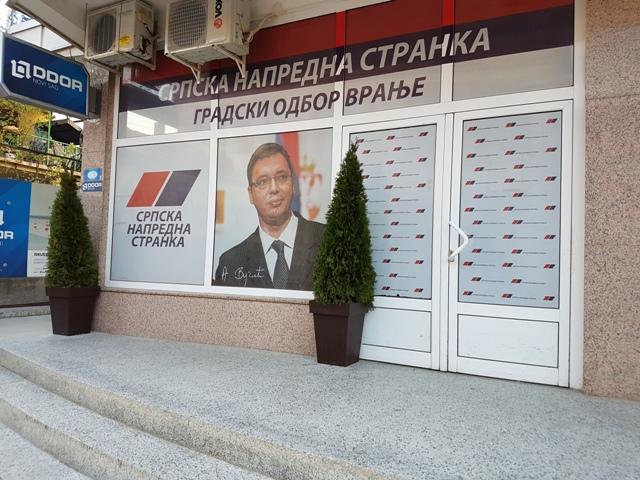 Iz SNS smatraju da opozicija ne može da im oprosti uspeh. Foto VranjeNews