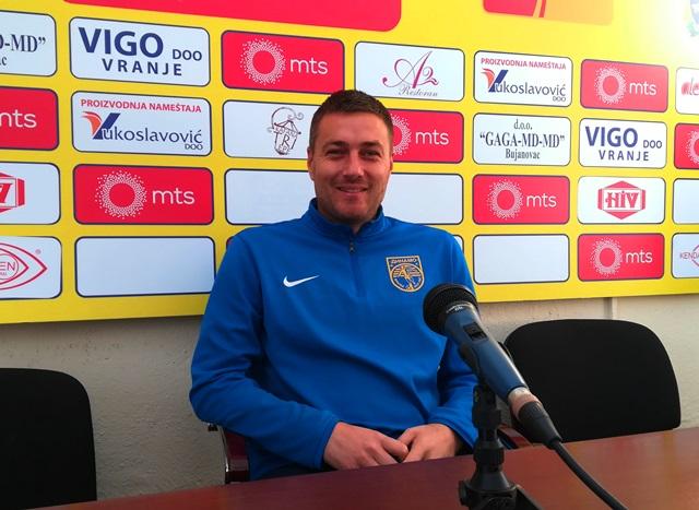 Pomoćni trener Dinama Nikola Stojanović. Foto Vranje News