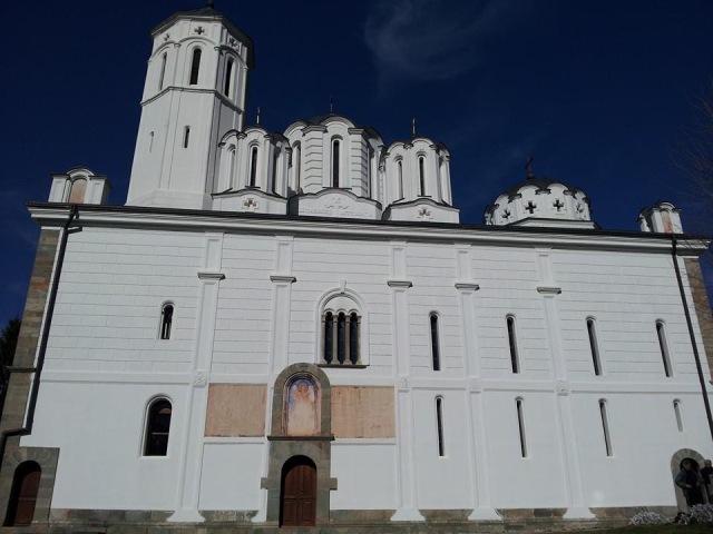 Crkva u Manastiru Sveti Prohor Pčinjski. Foto Vranje News
