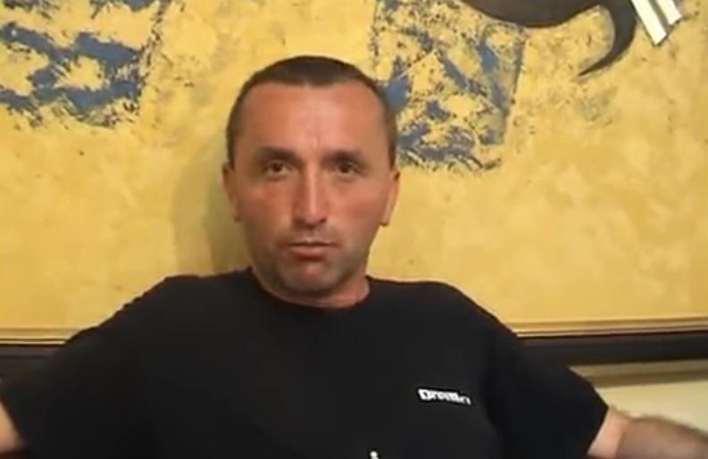 Ubijeni Vojislav Stojanović Vojča. Foto printscreen TV Cactus