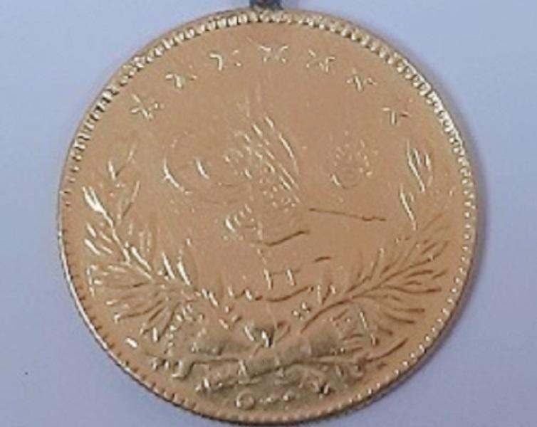Najveći zlatnik je prečnika 35 milimetara. Foto Uprava carina