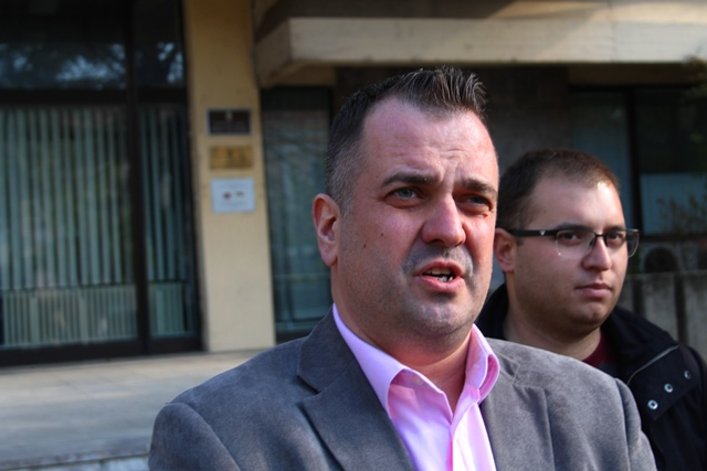 Ne dozvoljavamo teror nad bilo kim: Vladimir Dobrosavljević. Foto VranjeNews