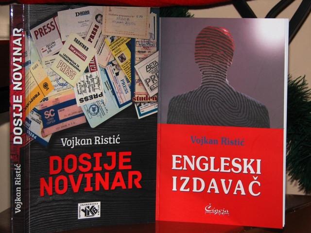Promotivna cena za kupovinu dve poslednje Ristićeve knjige u paketu. Foto VranjeNews