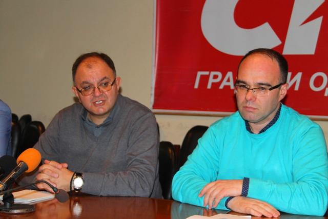 Filtiranjem u okviru partije izdvojilo se ime Branimira Stojančića, pojasnio je Antić. Foto VranjeNews